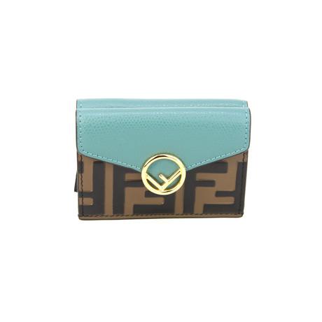 Fendi // Women's Folding Wallet // Blue