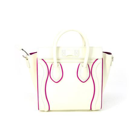 Celine // Women's Nano Handbag // White
