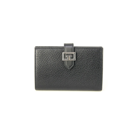 Givenchy // Women's 'GG' Logo Medium Wallet // Black