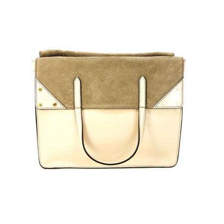 Fendi // Women's Large Flip Handbag // Brown