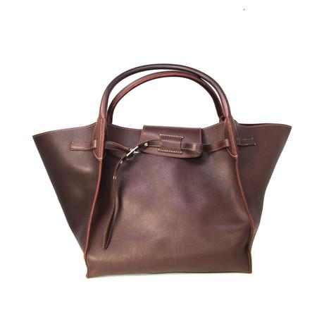Celine // Women's Big Bag // Burgundy