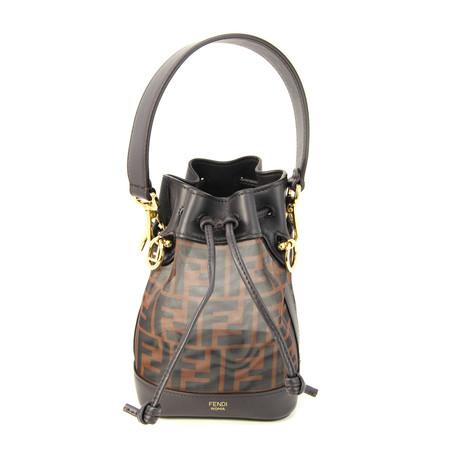 Fendi // Women's Mon Tresor Bucket Bag // Brown