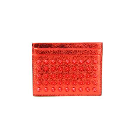 Christian Louboutin // Women's Folding Wallet V2 // Red