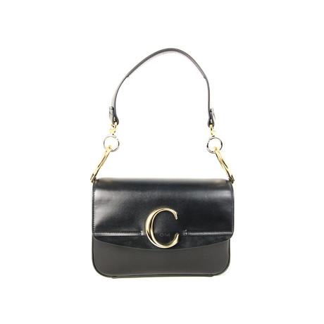 Chloe // Women's Double Carry Bag // Black