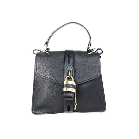 Chloe // Women's Aby Shoulder Bag // Black
