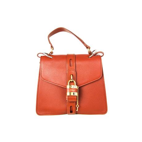 Chloe // Women's Aby Shoulder Bag // Brown