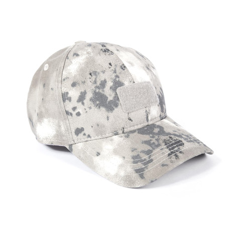 Baseball Hat // Black Camouflage