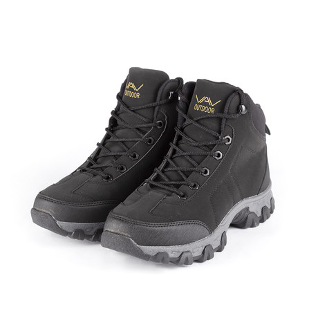 Mid Boot // Black (Euro: 38)