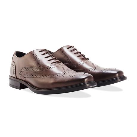 Leather Brogue // Brown (UK: 7)