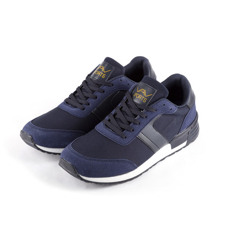 Sneaker // Navy Blue (Euro: 38)