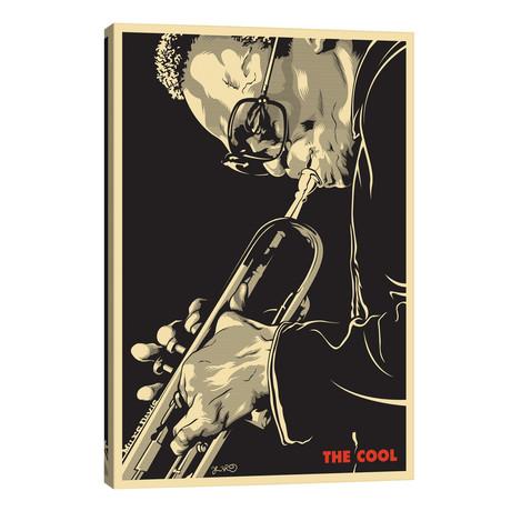 "The Cool: Miles Davis // Joshua Budich (26""W x 40""H x 1.5""D)"