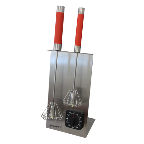 Whisk Stand + Timer Set (Red)