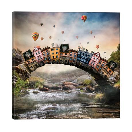 """Bridge Hose // fndesignart (26""""W x 26""""H x 1.5""""D)"""