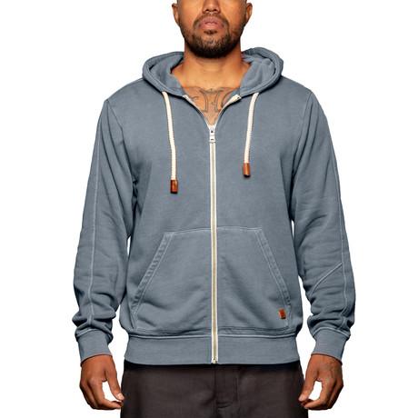 Full Zip Sweatshirt // Midnight Navy (S)