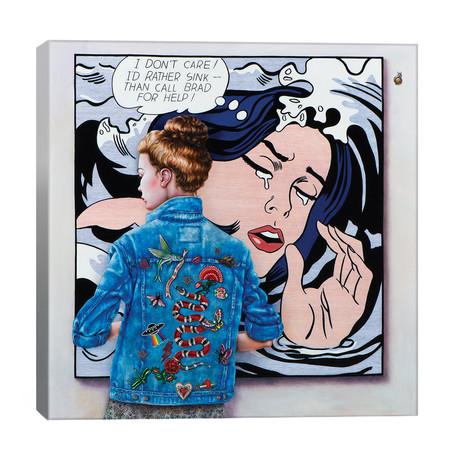 """Lichtenstein Art Lover // Liva Pakalne Fanelli (18""""W x 18""""H x 1.5""""D)"""