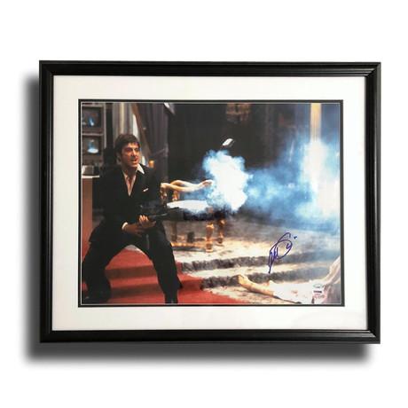 "Al Pacino // Signed ""Scarface"" Framed Photo"