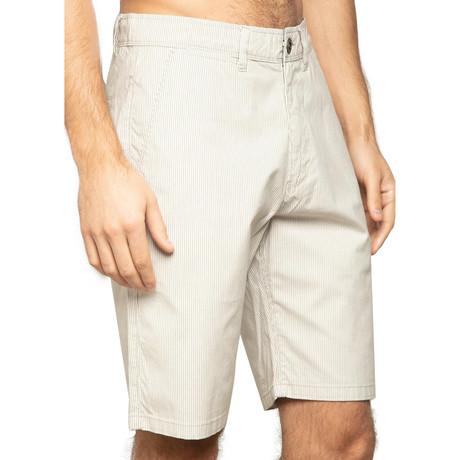 Redondo Vintage Stripe Chino Shorts // Sand Dune (30)
