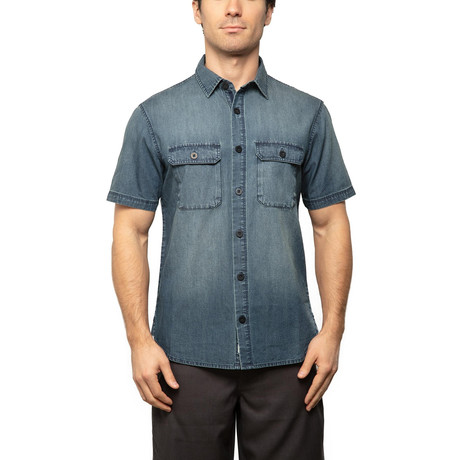 Bayside Short Sleeve // Indigo (S)