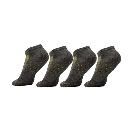 KG Socks // Heather Gray // Pack of 4 (S/M)