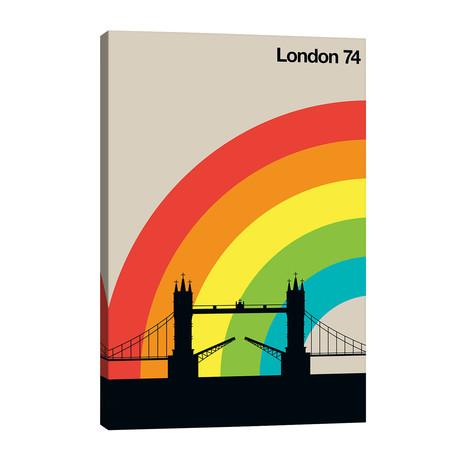 """London 74 // Bo Lundberg (26""""W x 40""""H x 1.5""""D)"""