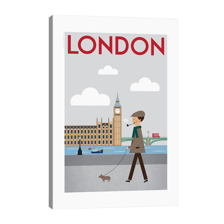 "London // TomasDesign (26""W x 40""H x 1.5""D)"