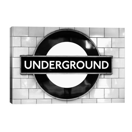 "London Underground // Magdalena Martin (40""W x 26""H x 1.5""D)"