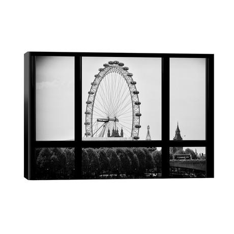 "The London Eye // Philippe Hugonnard (40""W x 26""H x 1.5""D)"