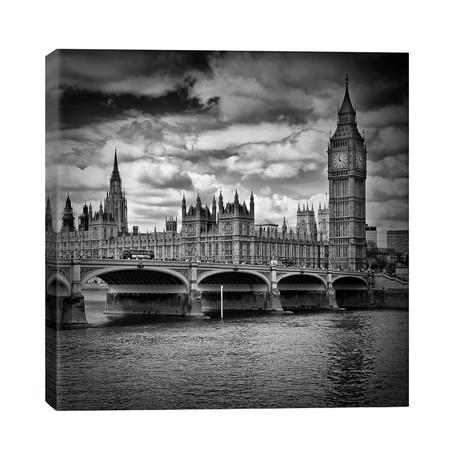 "London Westminster // Melanie Viola (26""W x 26""H x 1.5""D)"