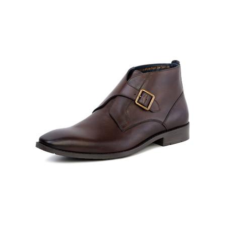 Logan Monk Strap Boot // Brown (UK: 7)