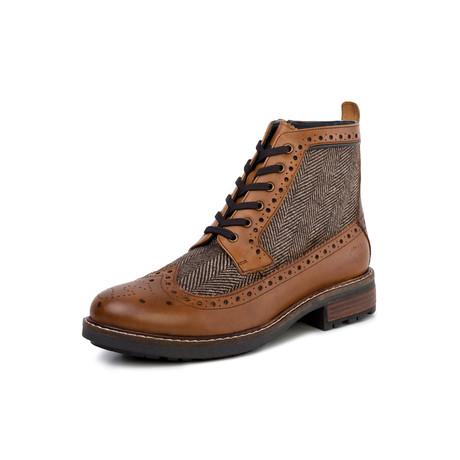 Sherwood Leather Twill Boot // Tan (UK: 7)