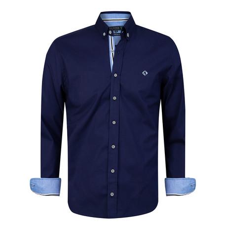 Volcano Shirt // Navy (XS)