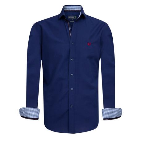 Gama Shirt // Navy (XS)