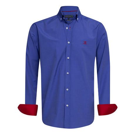Patcho Shirt // Royal Blue (XS)
