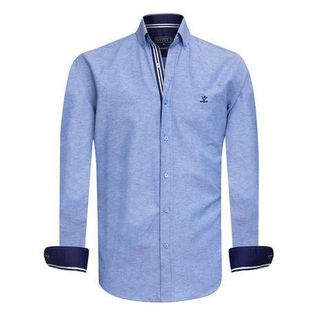 Oxxy Shirt // Blue (XS)
