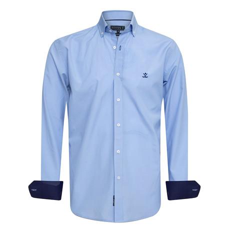 Patcho Shirt // Blue (XS)