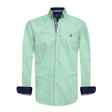 Oxxy Shirt // Green (XS)