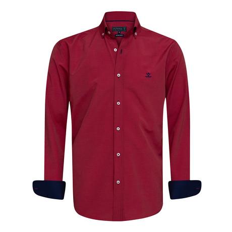 Patcho Shirt // Bordeaux (XS)