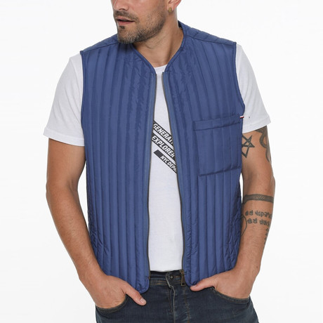 Canyon Vest // Blue (Small)