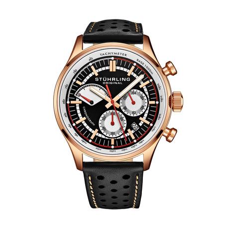 Stuhrling Original Monaco Chronograph Quartz // 934.03