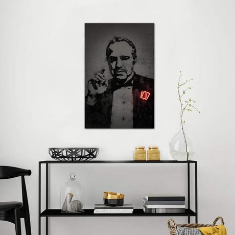 "Godfather // Octavian Mielu (26""W x 40""H x 1.5""D)"