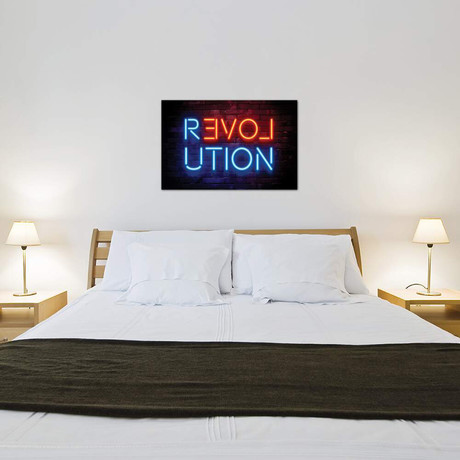 "Revolution // Philippe Hugonnard (40""W x 26""H x 1.5""D)"