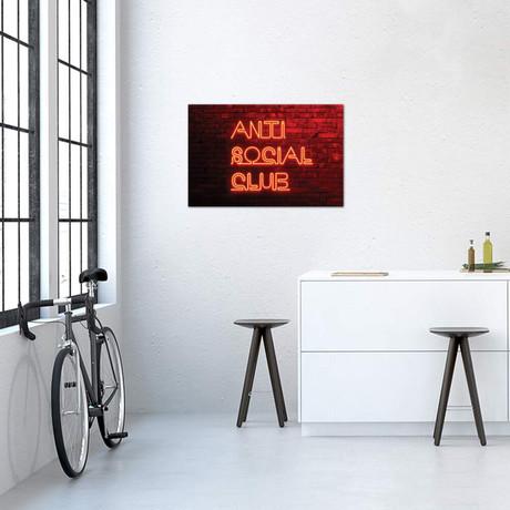 """Anti Social Club // Philippe Hugonnard (40""""W x 26""""H x 1.5""""D)"""