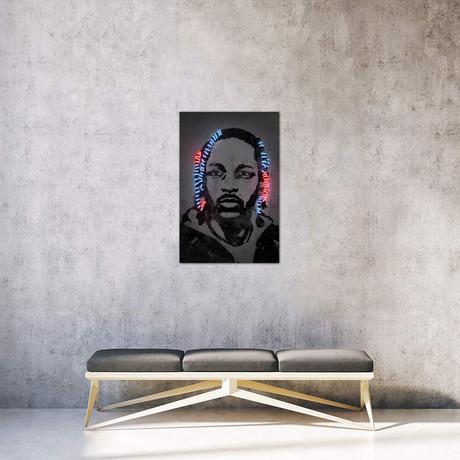 """Kendrick Lamar // Octavian Mielu (26""""W x 40""""H x 1.5""""D)"""