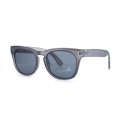 Filtrate Eyewear // Mayonaise Polarized Sunglasses (Gray Matte + Gray)