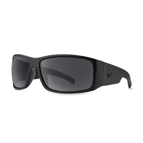 Filtrate Eyewear // Factory Polarized Sunglasses (Matte Black + Gray)
