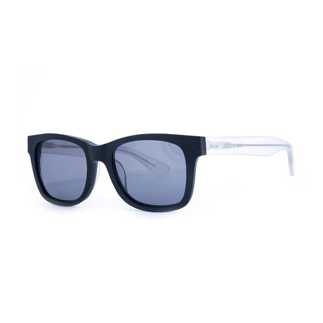 Filtrate Eyewear // Oxford Sunglasses (Black Clear + Smoke)