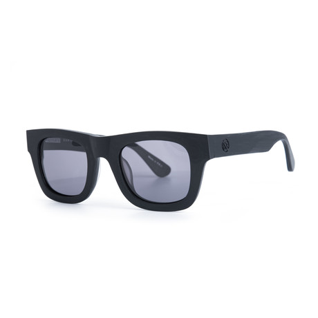 Filtrate Eyewear // Bang Theory Sunglasses (Black Raw Smoke)