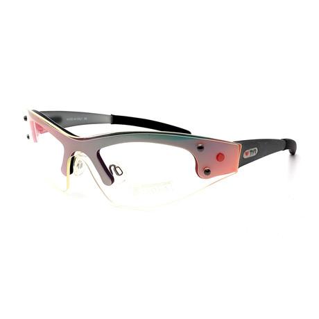 Unisex TR03-20-13 XT3 Sunglasses // Clear Brushed Aluminum