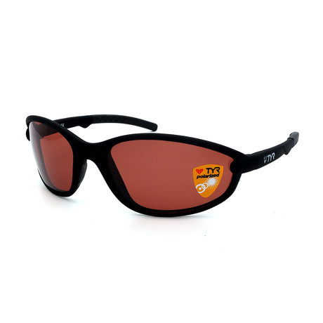 Unisex TR25-01-09 Reef Polarized Sunglasses // Matte Black