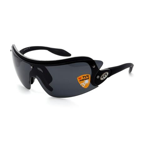 Unisex TR01-01-02 XT1 Polarized Sunglasses // Brushed Black